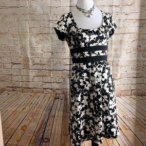 Donna Ricco Midi Floral Dress size 10
